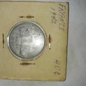 1942 france coin